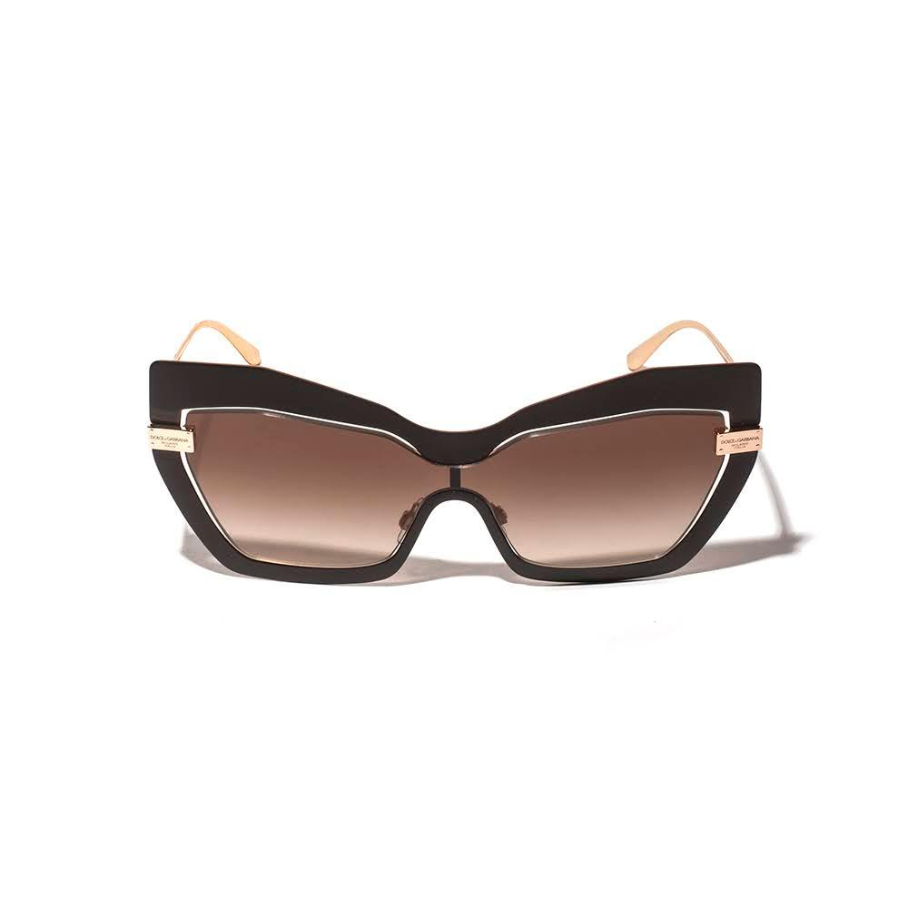 Dolce & Gabbana Brown Cat Eye Sunglasses