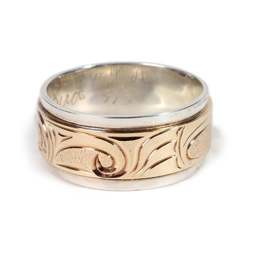 Ojibway Joe Descoteaux Size 8 Hummingbird Ring
