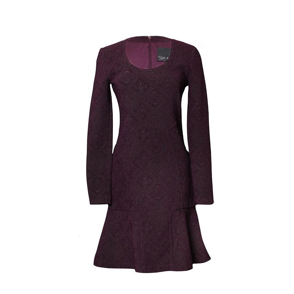 Yigal Azrouel Size 4 Purple Dress