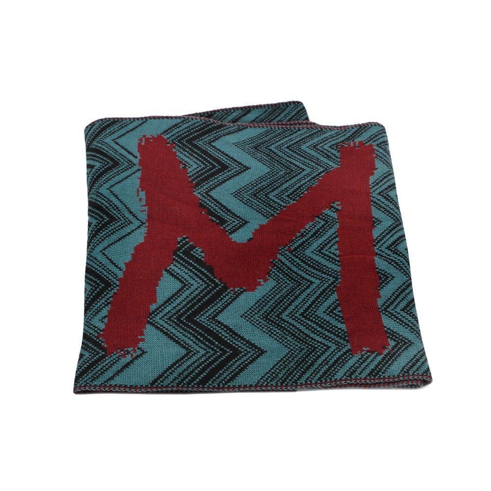 Missoni Knit Logo Scarf