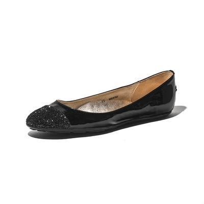 Jimmy Choo Size 10 Glitter 'Whirl' Flats