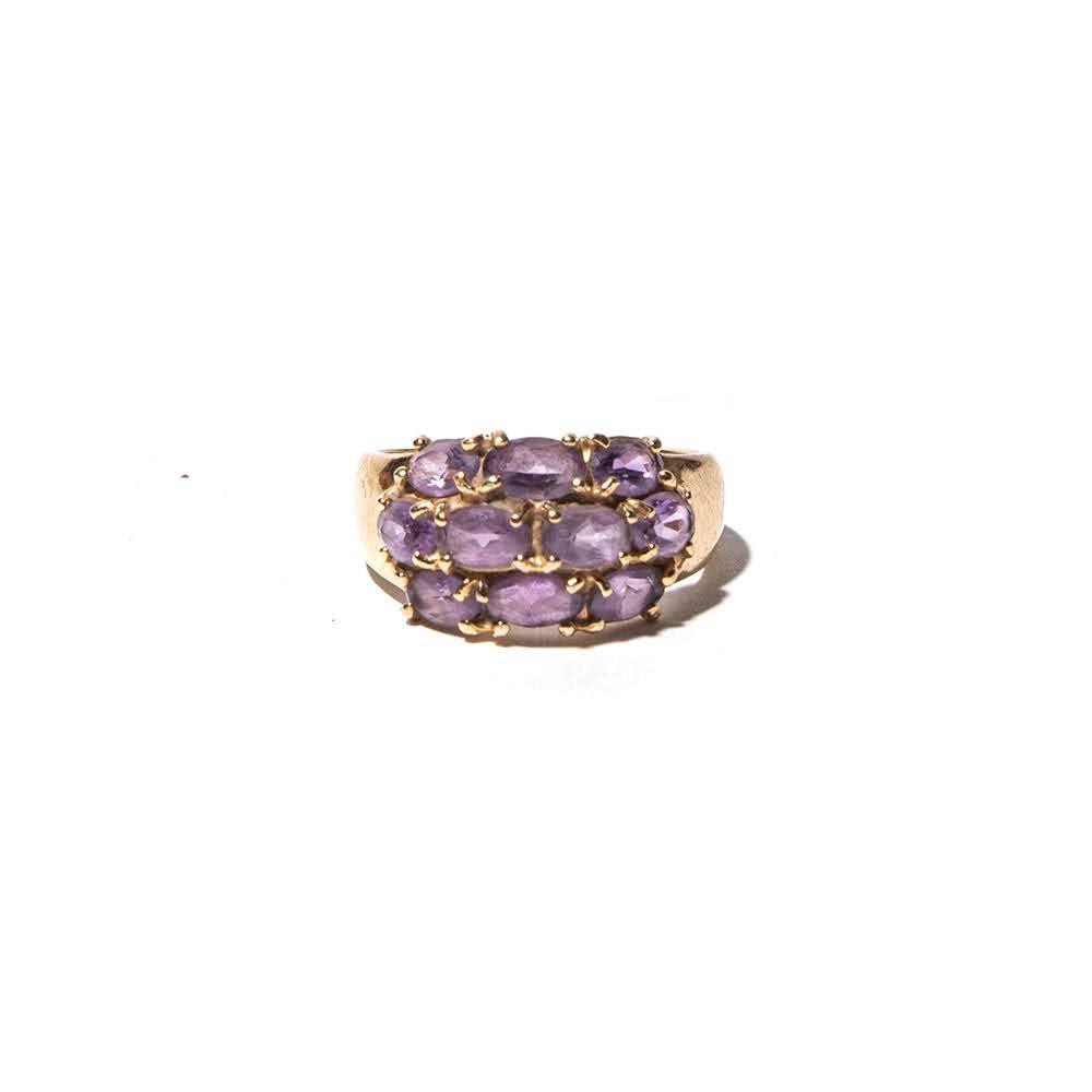 14kyg Size 6.5 Amethyst Ring