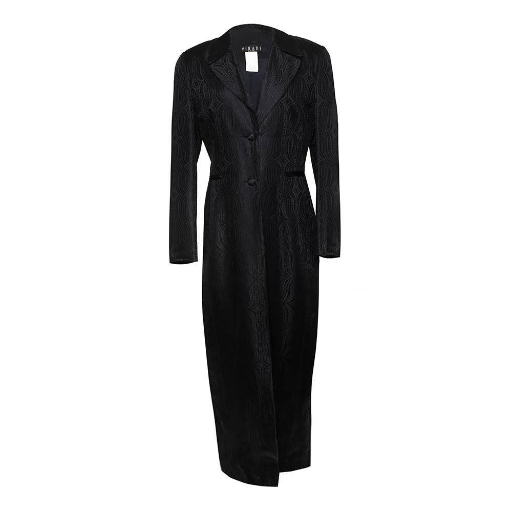 Vintage Virani Size Medium Black Coat