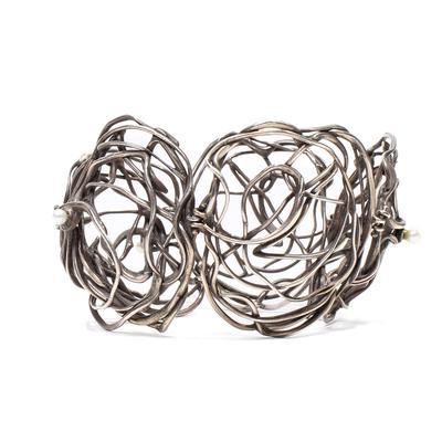 Emanuela Duca Freeform Pearls Bracelet