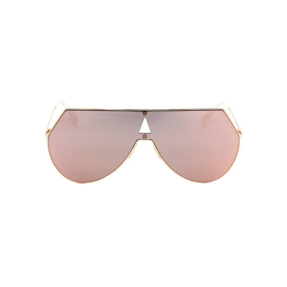 Fendi Gold & Pink Aviator Style Sunglasses