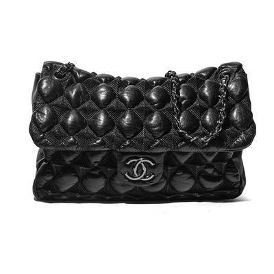 Chanel Bubble 'Pyramid' Flap Handbag