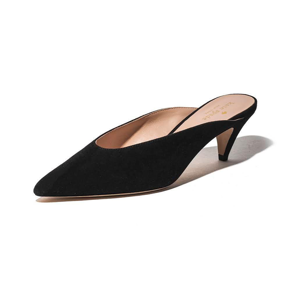 Kate Spade Size 7.5 'sherrie ' Suede High Heel