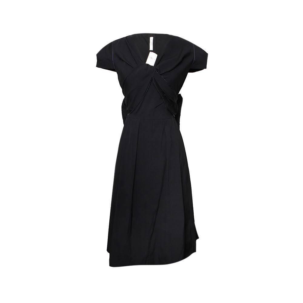 Prada Size 40 Black Dress
