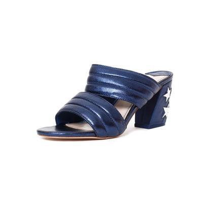 Sandro Size 7 Blue Star Heels