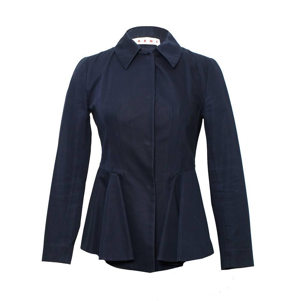 Marni Size 38 Navy Jacket