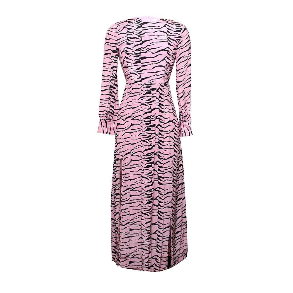 Rixo Zebra Size Xxs Pink Dress