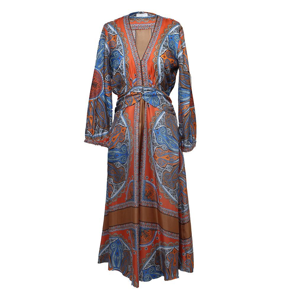 Sandro Size Small Silk Dress