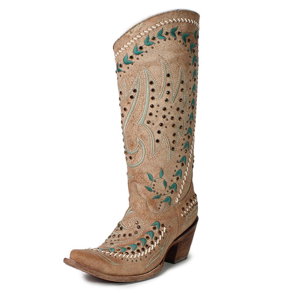 Corral Vintage Rhinestone Boots