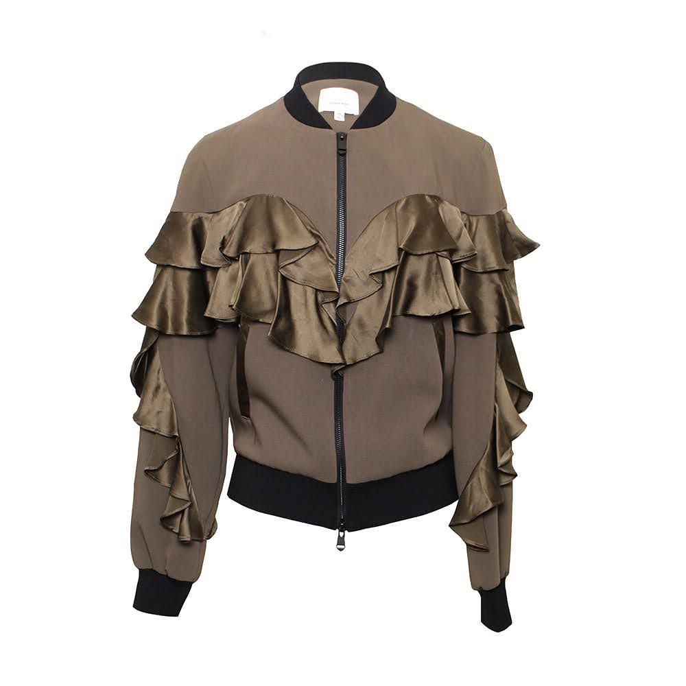 Cinq A Sept Size Xs Green Jacket