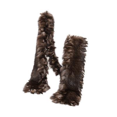 Fendi Beaver Fur Scarf
