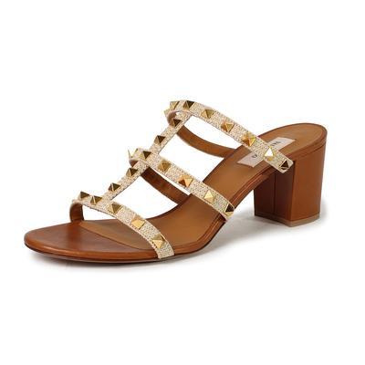 Valentino Size 11 Rockstud Slide Sandals