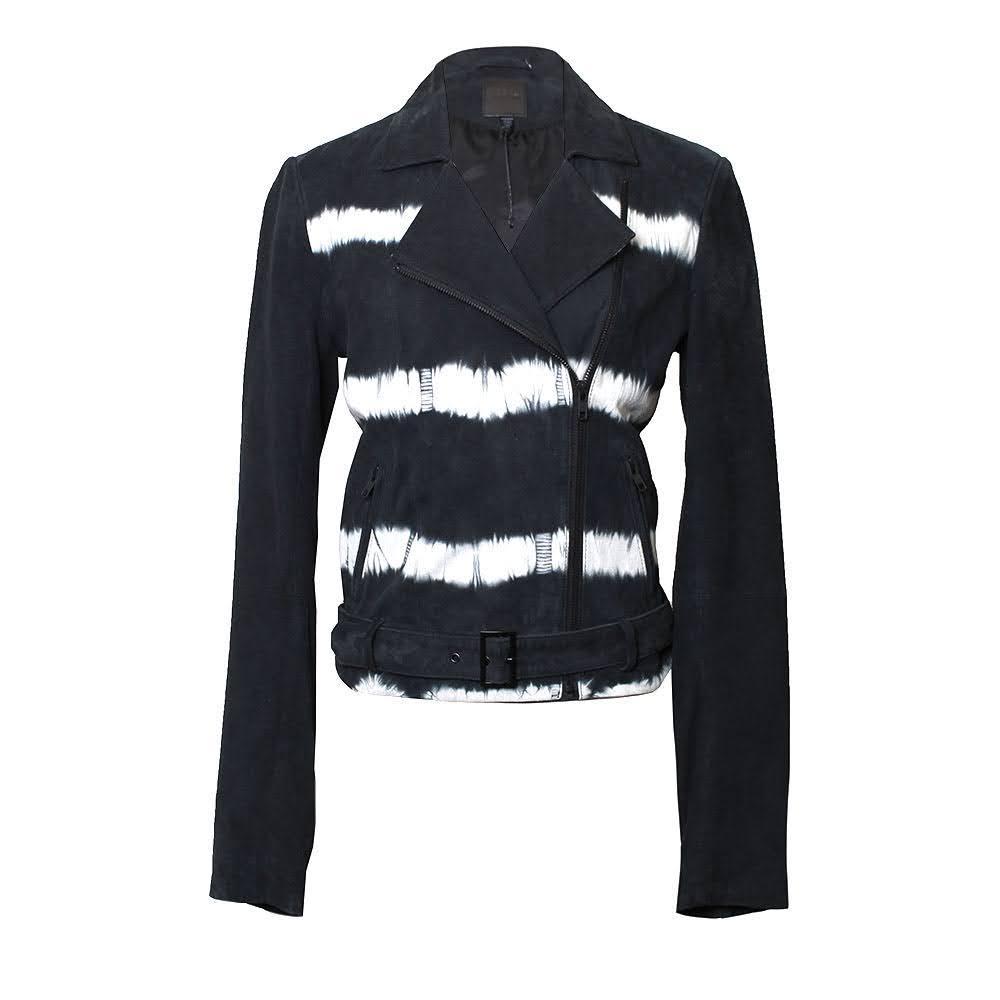 Joe Fresh Size Medium Suede Moto Jacket