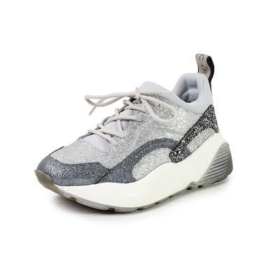 Stella McCartney Eclypse Glitter Size 7 Sneakers