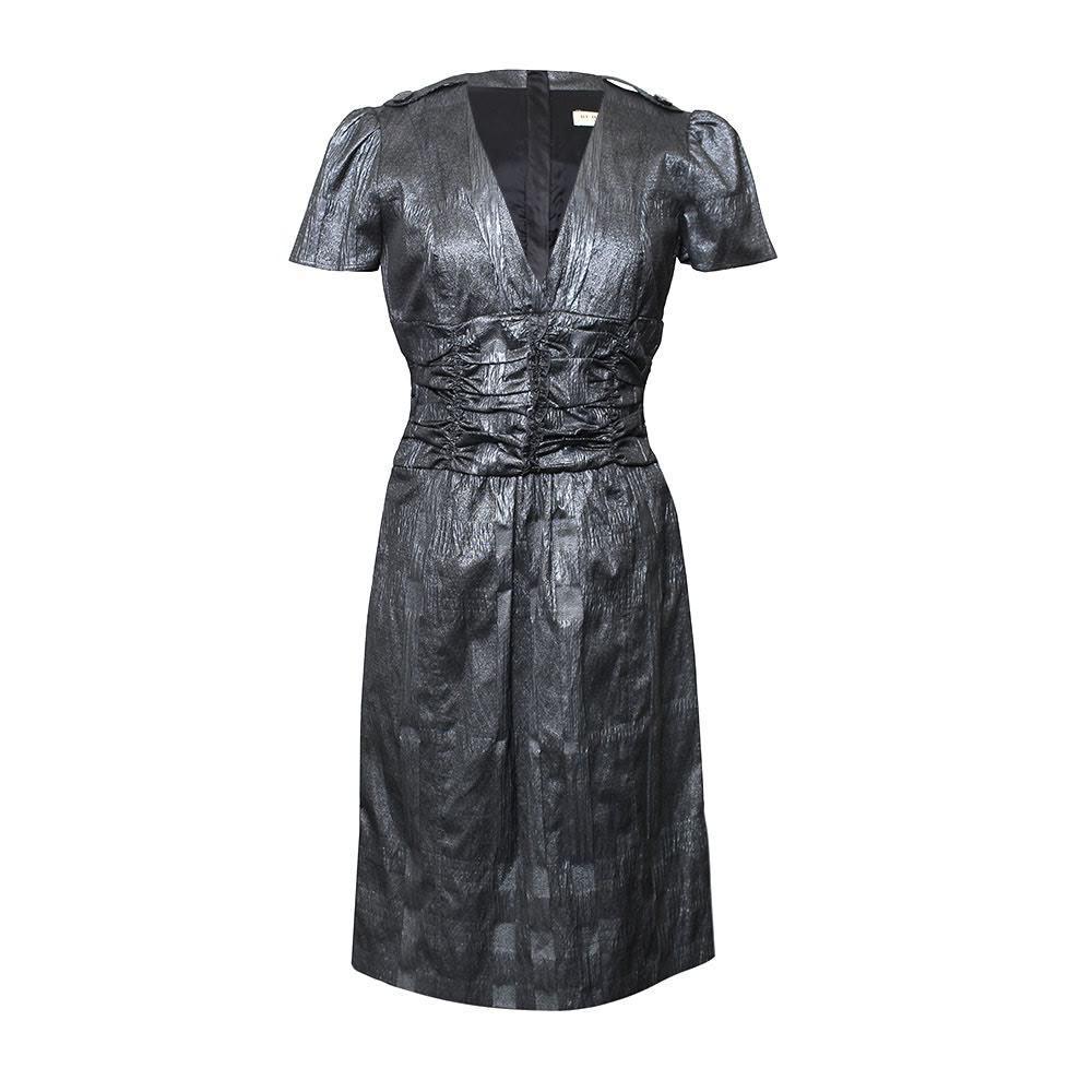 Burberry Size 6 S Metallic Dress