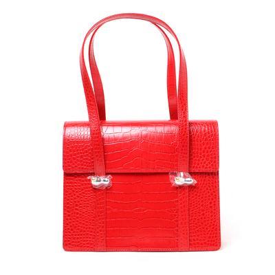 Yuul Yie Jackie Reptile Embossed Handbag