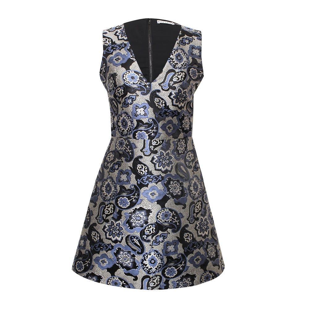 Alice + Olivia Size 4 Floral Dress