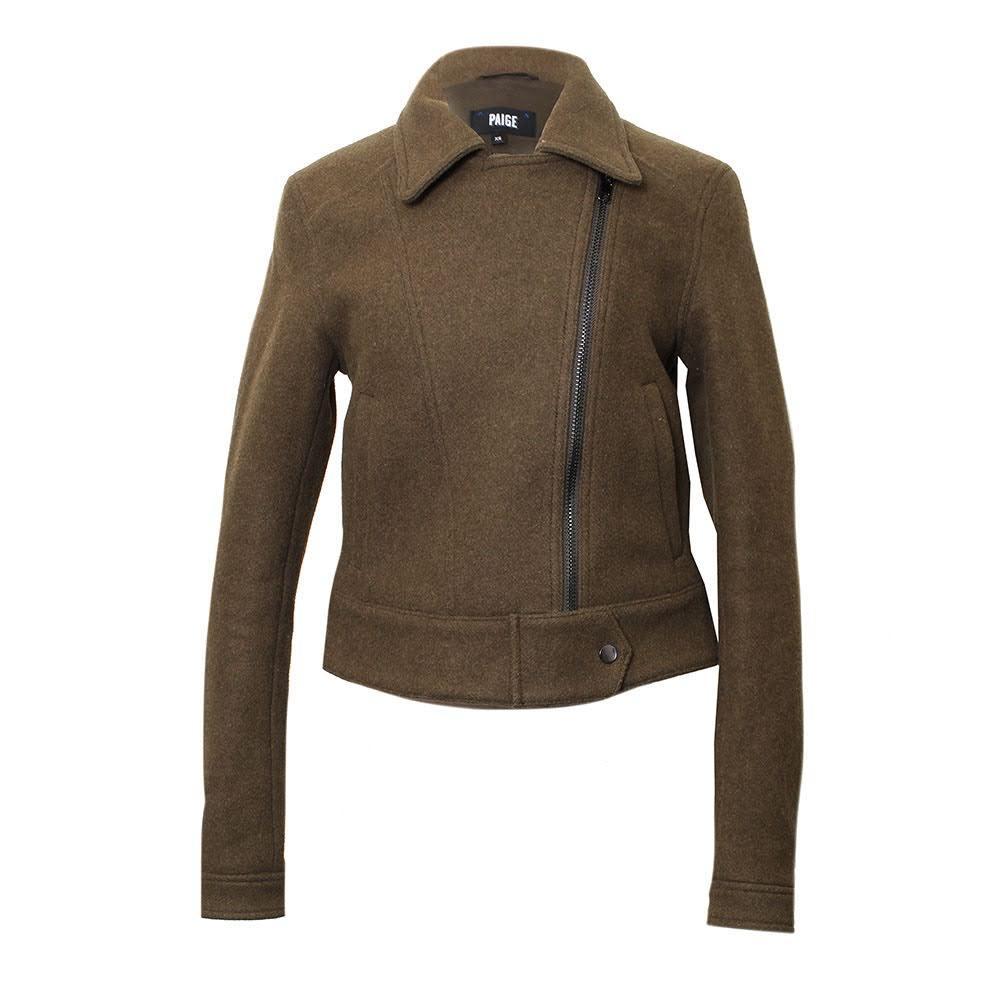 Paige Size Xs Olive Green Jacket