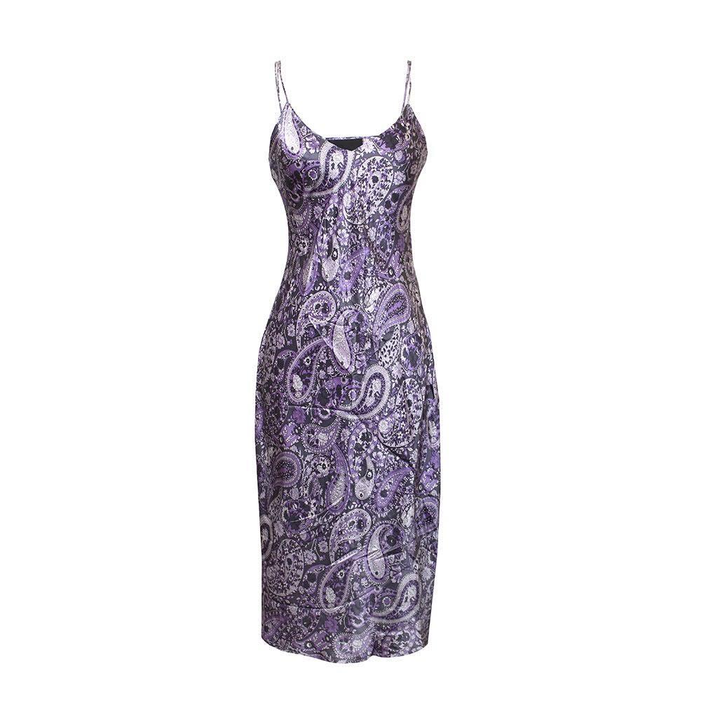 Nili Lotan Size M Paisley Slip Dress