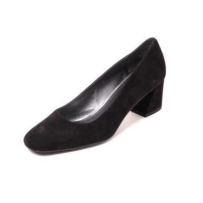 Stuart Weitzman Size 9.5 Black Suede Heels