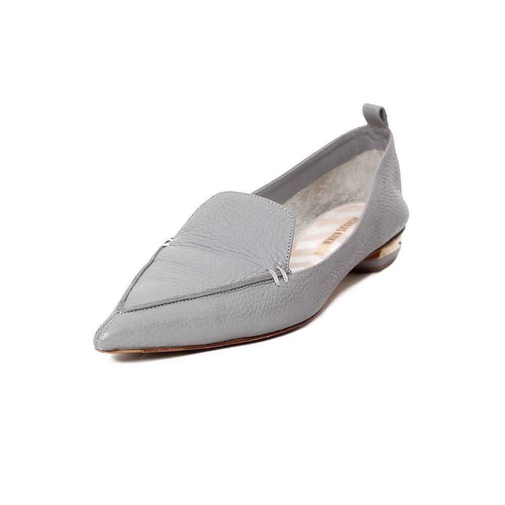 Nicholas Kirkwood Size 9.5 Grey Flats
