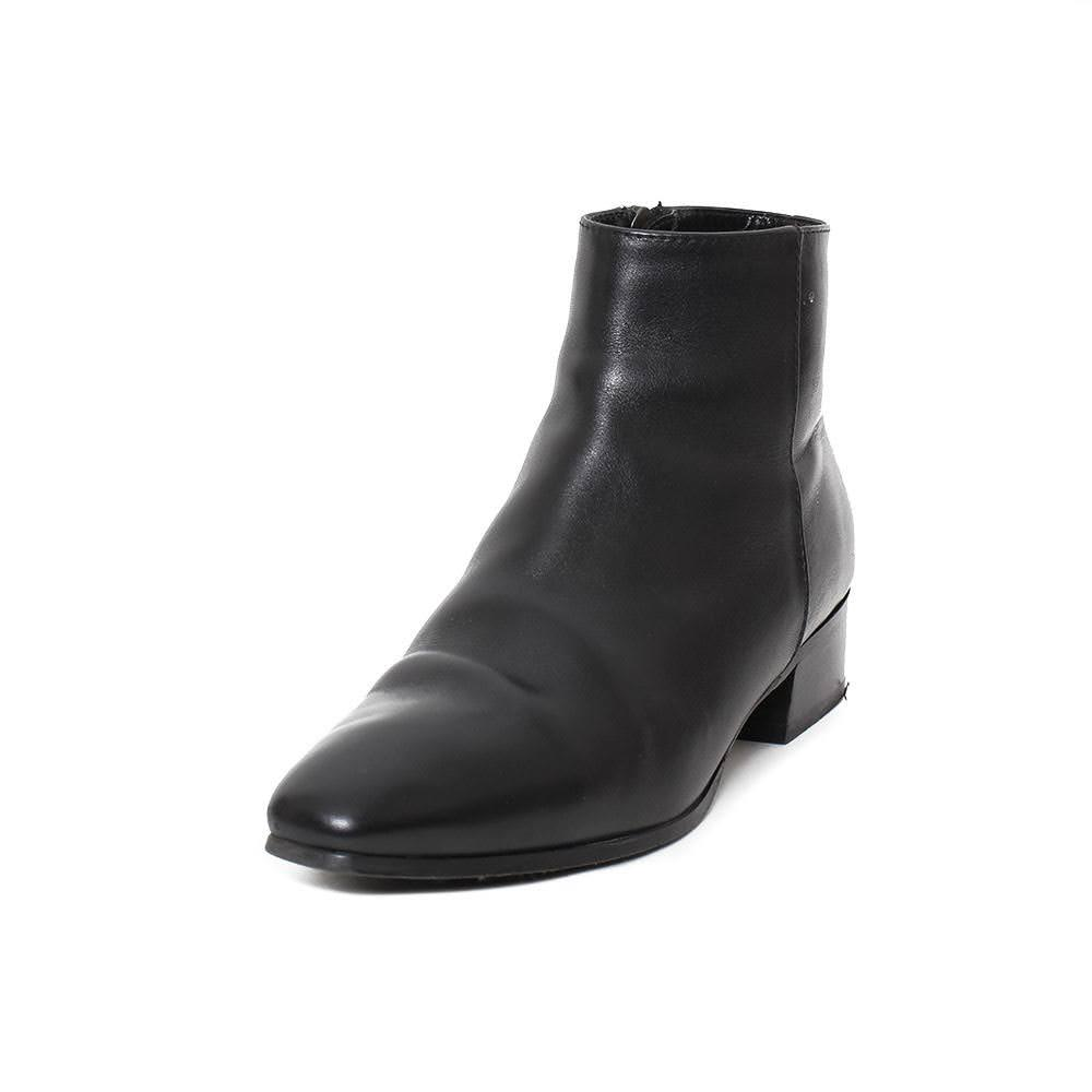 Aquatalia Black Size 7 Leather Booties