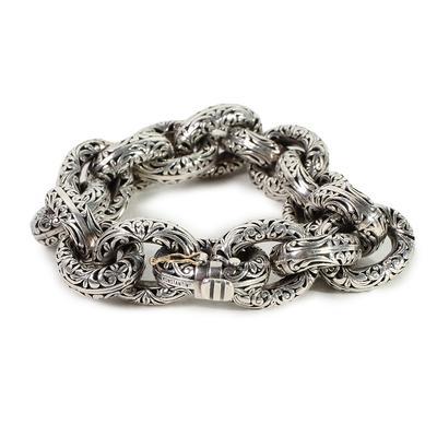Konstantino Hestia Sterling Silver Bracelet