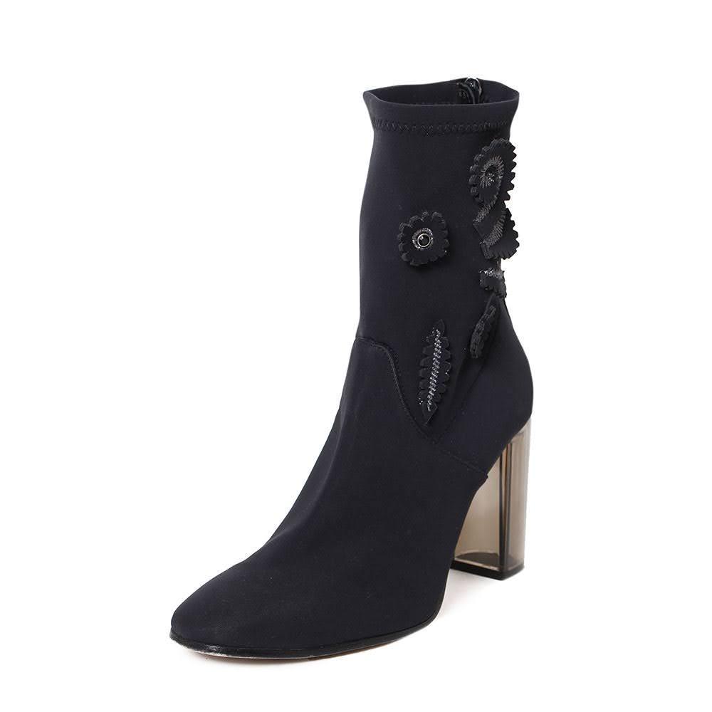 Pinko Size 8 Black Boots