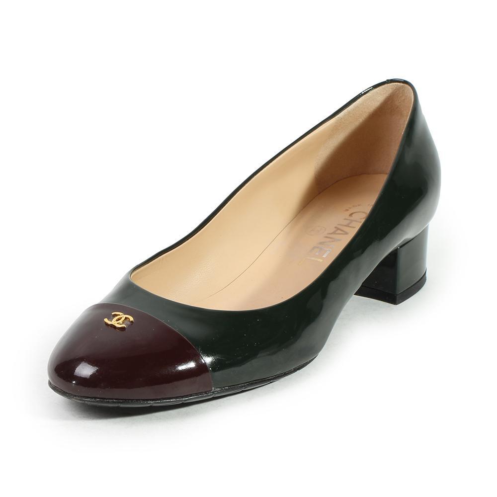 Chanel Size 7.5 Cap Toe