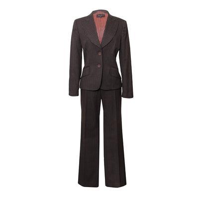 Luisa Spagnolis Size 40 Pinstripe 2pc Suit