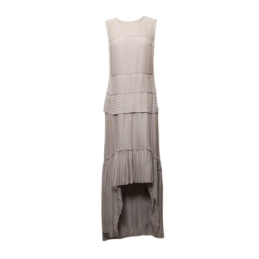 Vera Wang Size 6 Grey Dress