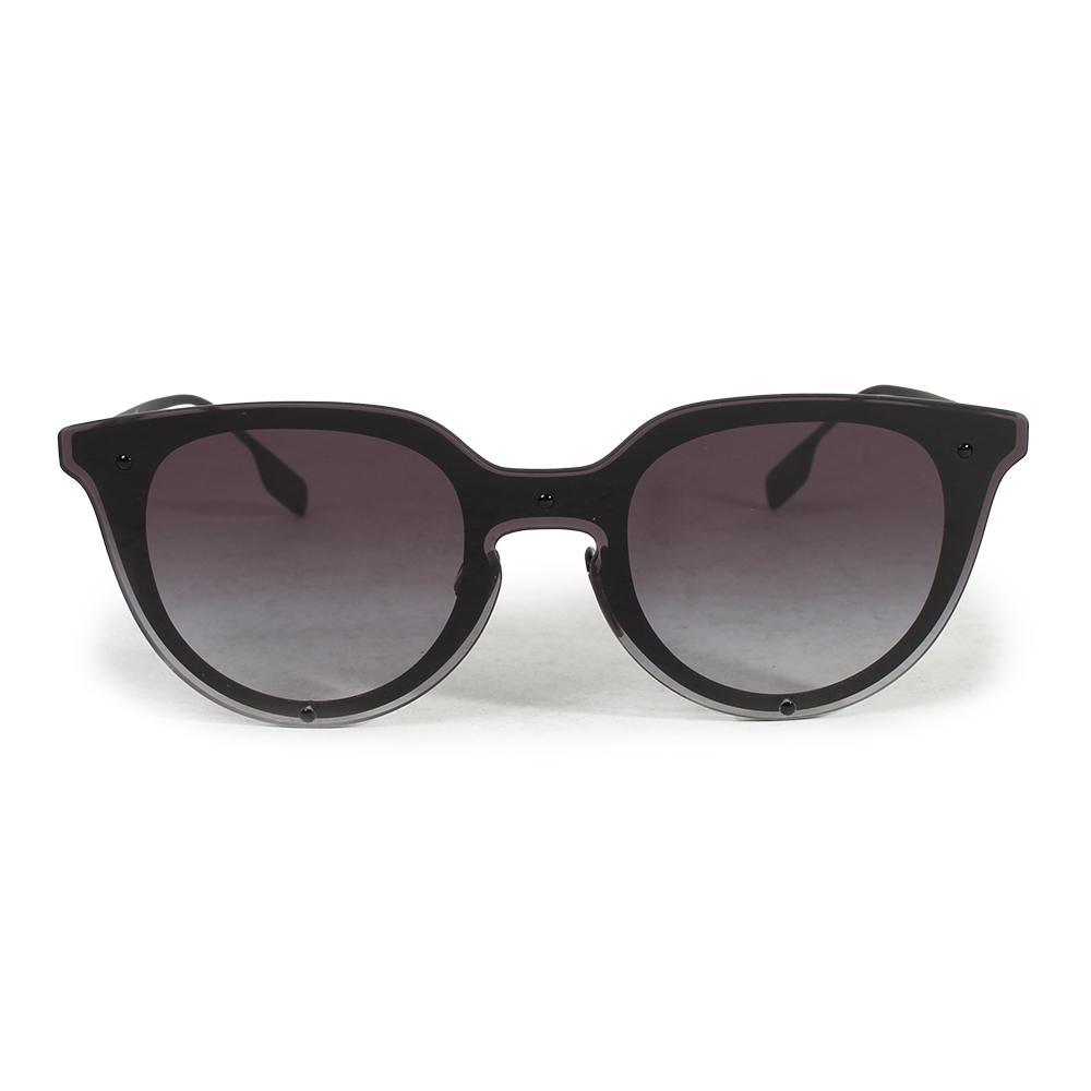 Burberry Phantos Black Overlay Sunglasses