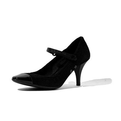 Prada Patent Size 7.5 Cap Toe Heel